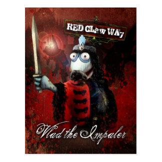 Vlad la marioneta del calcetín de Impaler Postal