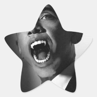 Vlad Obama - Mmmm You Look Tasty Black Stickers