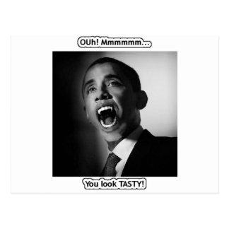 """¡Vlad Obama - """"Mmmmm que usted parece SABROSO! """" Postal"""