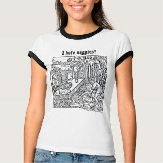 """Vlad """"odio los Veggies!"""" camiseta"""