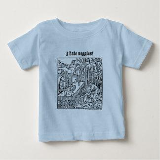 "Vlad ""odio los Veggies!"" camiseta infantil Playeras"