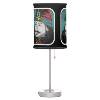 'Vlad' on a table lamp