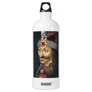 Vlad Tepes [Count Dracula] Aluminum Water Bottle