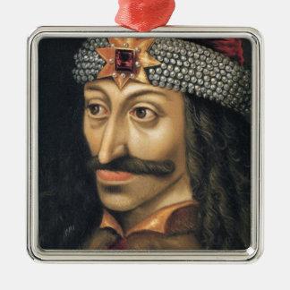 Vlad Tepes [Count Dracula] Metal Ornament