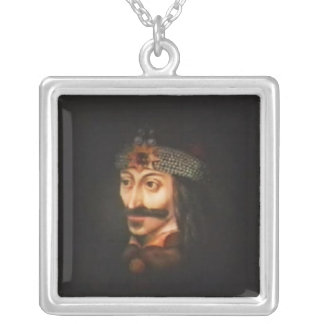 Vlad Tepes Square Pendant Necklace