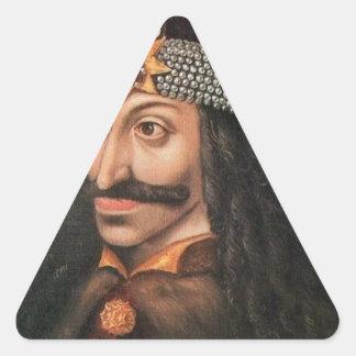 Vlad Tepes Pegatina Triangular