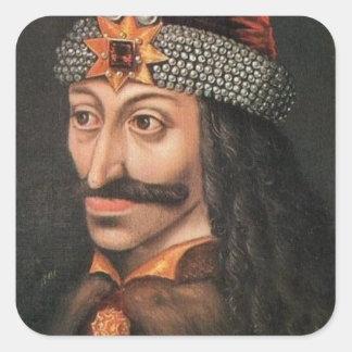 Vlad Tepes Square Sticker