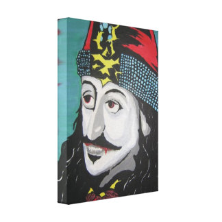 'Vlad Tepes' Stretched Canvas Print