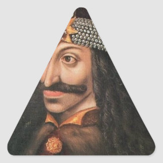 Vlad Tepes Triangle Sticker