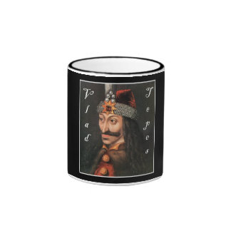 Vlad Tepes with name in Blackadder Ringer Coffee Mug