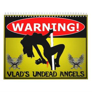 Vlad The Enforcer's Undead Angels 2014 Calendar