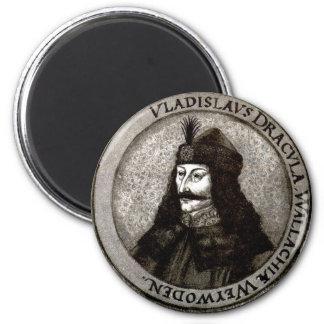 Vlad the Impaler 2 Inch Round Magnet