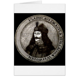 Vlad the Impaler Greeting Card