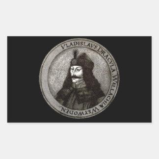 Vlad the Impaler [Count Dracula] Rectangular Sticker
