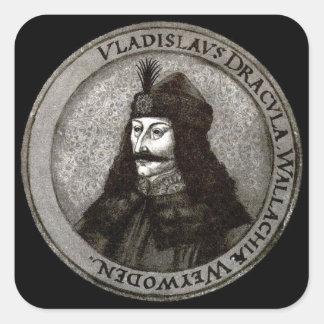 Vlad the Impaler [Count Dracula] Square Sticker