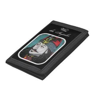 'Vlad the Impaler' on a tri-fold nylon wallet