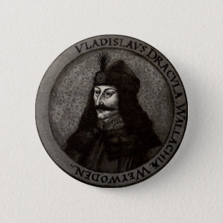 Vlad the Impaler Pinback Button