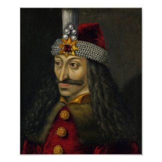 Vlad the Impaler Portrait Poster