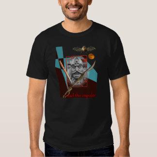 Vlad the Impaler snarling Tee Shirts