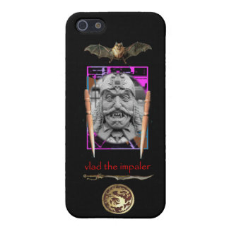 Vlad the Impaler snarls at you! Cases For iPhone 5