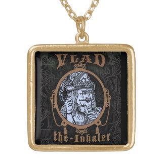 """Vlad """"The Inhaler"""" Gold Plated Necklace"""