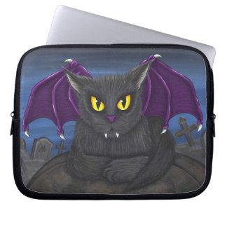 Vlad Vampire Cat Gothic Fantasy Art Laptop Sleeve