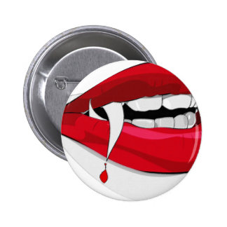 Vladdy Vampire Pinback Button