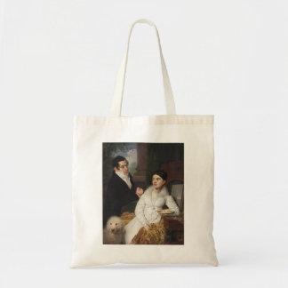 Vladimir Borovikovsky- Portrait of A. G. &Lobanov Canvas Bags