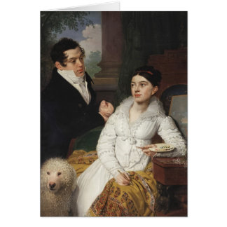Vladimir Borovikovsky- Portrait of A. G. &Lobanov Cards