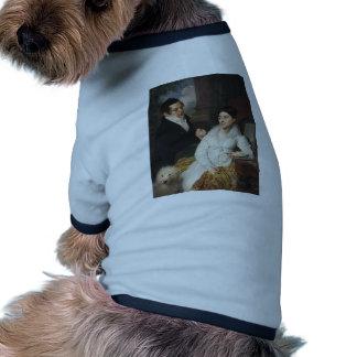 Vladimir Borovikovsky- Portrait of A. G. &Lobanov Dog T-shirt