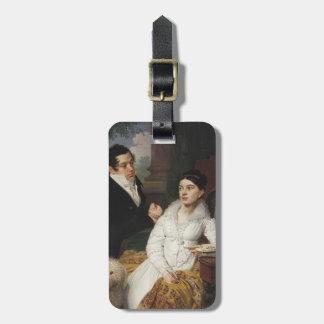 Vladimir Borovikovsky- Portrait of A. G. &Lobanov Bag Tag
