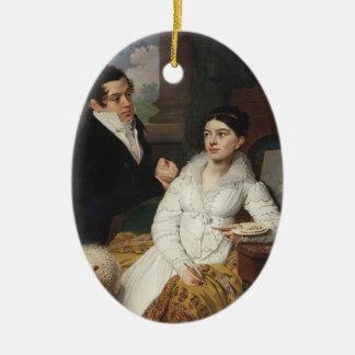 Vladimir Borovikovsky- Portrait of A. G. &Lobanov Christmas Tree Ornament