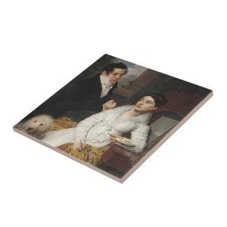 Vladimir Borovikovsky- Portrait of A. G. &Lobanov Ceramic Tile