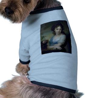 Vladimir Borovikovsky: Retrato de Elena Naryshkina Camisetas De Perrito