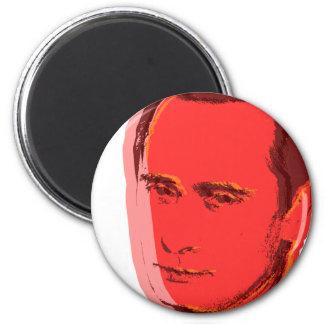 Vladimir de Putin Imán Redondo 5 Cm