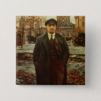 Vladimir Ilyich Lenin  at Smolny, c.1925 Button