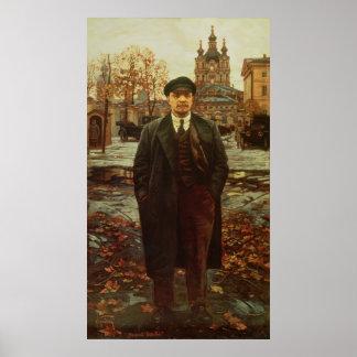 Vladimir Ilyich Lenin en Smolny, c.1925 Póster