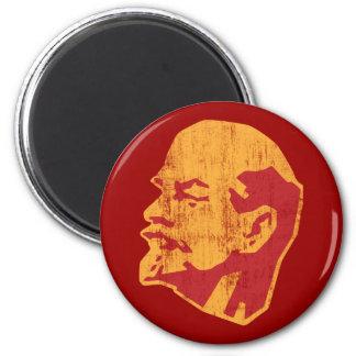 vladimir lenin cccp portrait 2 inch round magnet