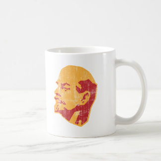 vladimir lenin cccp portrait coffee mug
