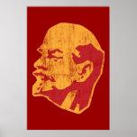 vladimir lenin cccp portrait poster
