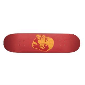 vladimir lenin cccp portrait skate boards