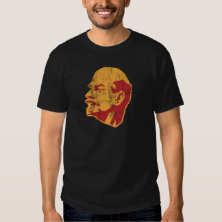 vladimir lenin cccp portrait tee shirt