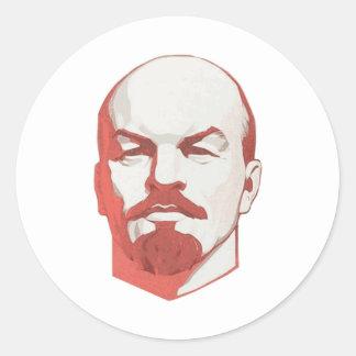 Vladimir Lenin Classic Round Sticker