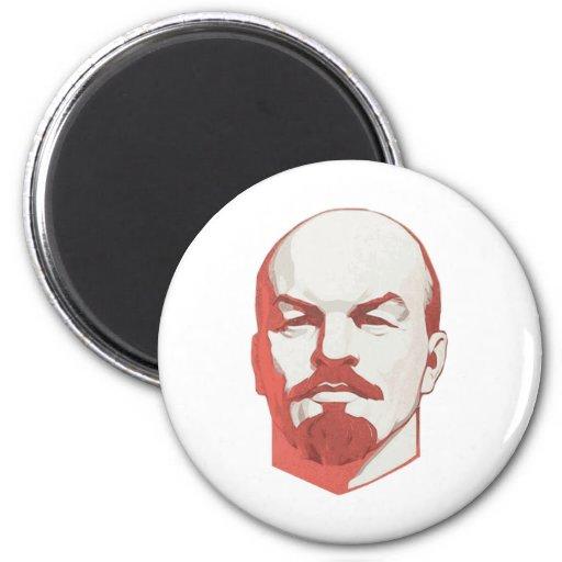 Vladimir Lenin Imán Redondo 5 Cm