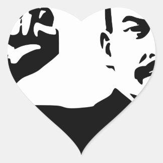 Vladimir Lenin Pegatina En Forma De Corazón
