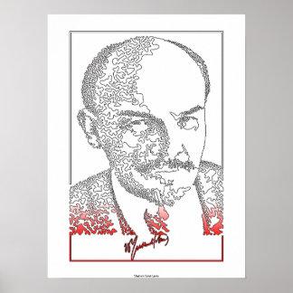 Vladimir Lenin. Russian revolutionary [004] Poster