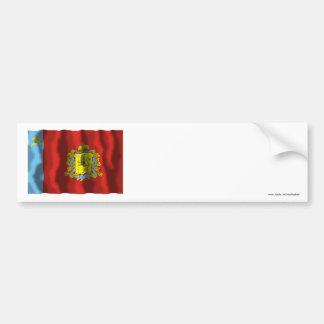 Vladimir Oblast Flag Bumper Sticker