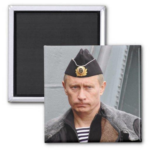 Vladimir Putin 2 Inch Square Magnet
