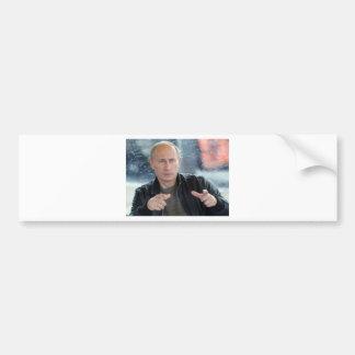 Vladimir Putin Car Bumper Sticker