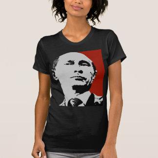 Vladimir Putin en rojo Remera